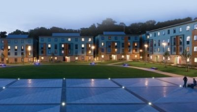 Lancaster university county field residences